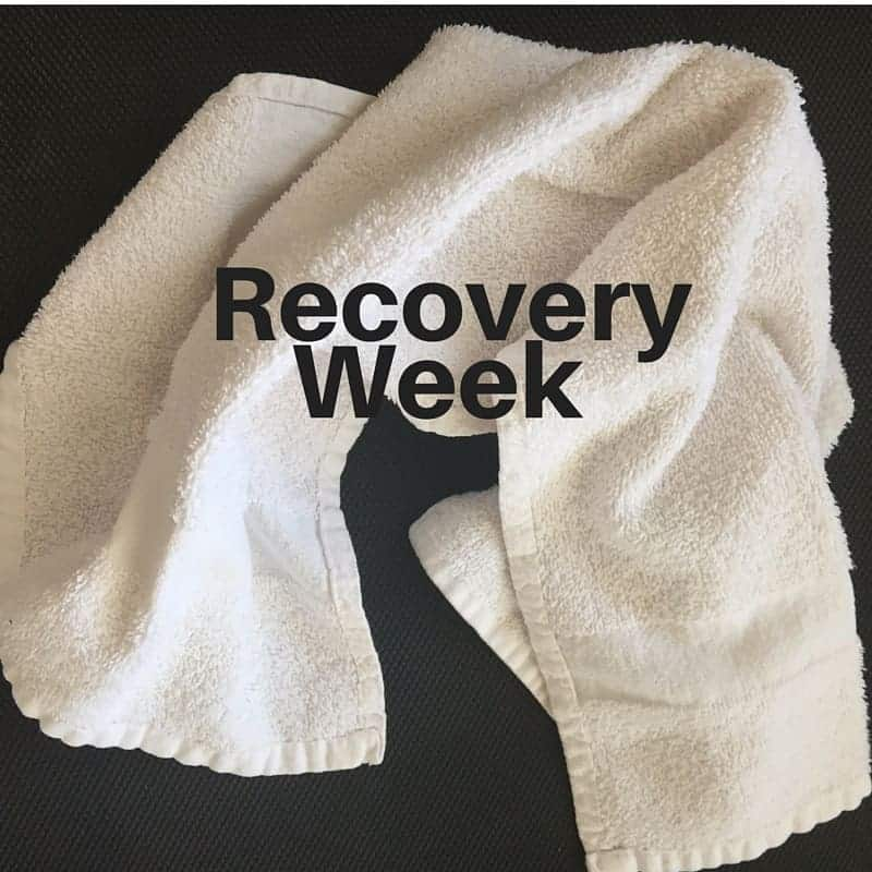 recovery week