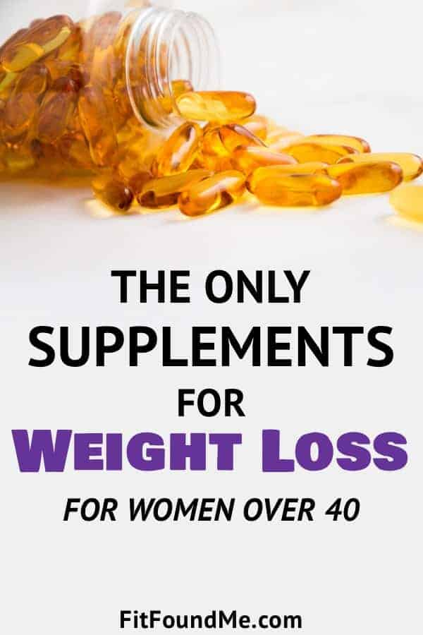 The Only Supplements For Weight Loss For Women Over 40