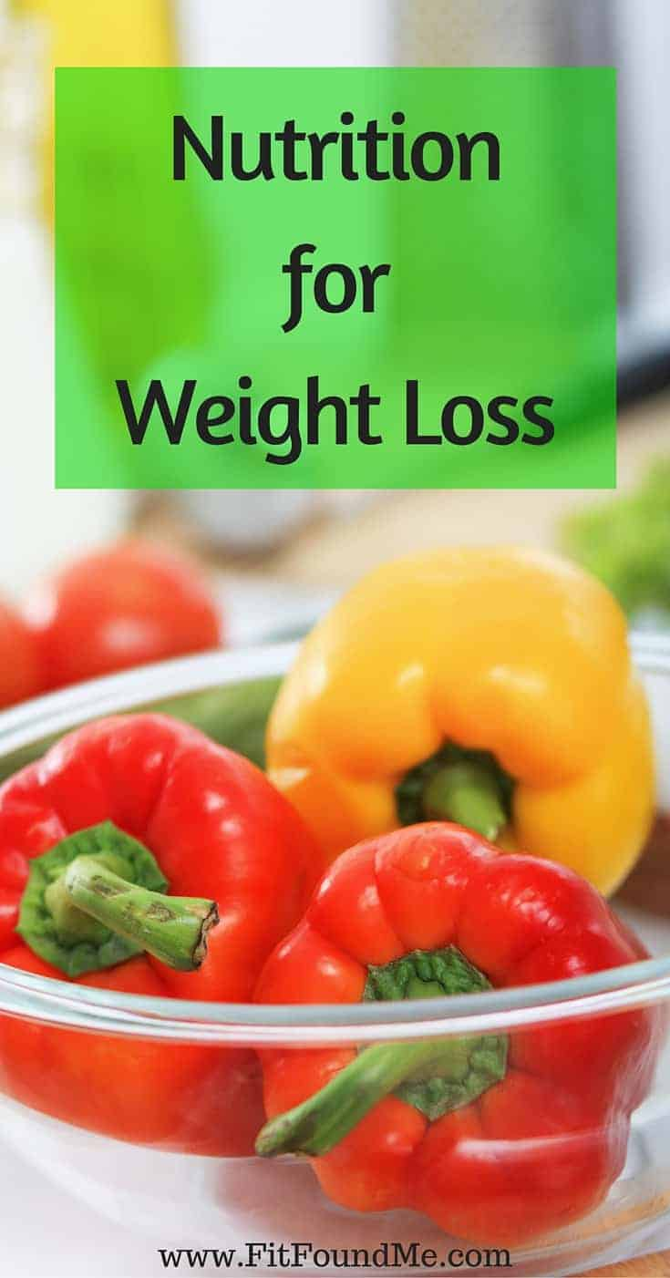 nutrition for weight loss