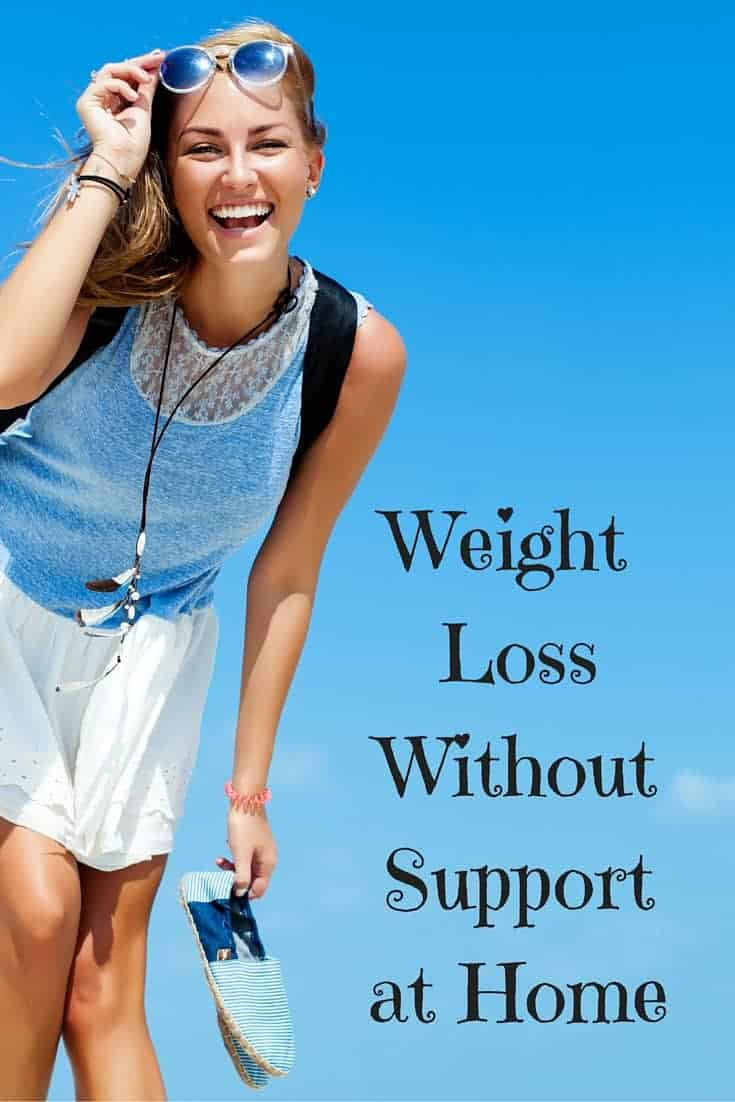 lose weight without support