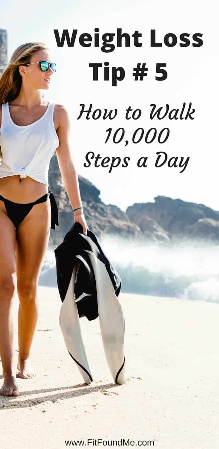 Walking To Lose Weight With This 10,000 Steps A Day Plan