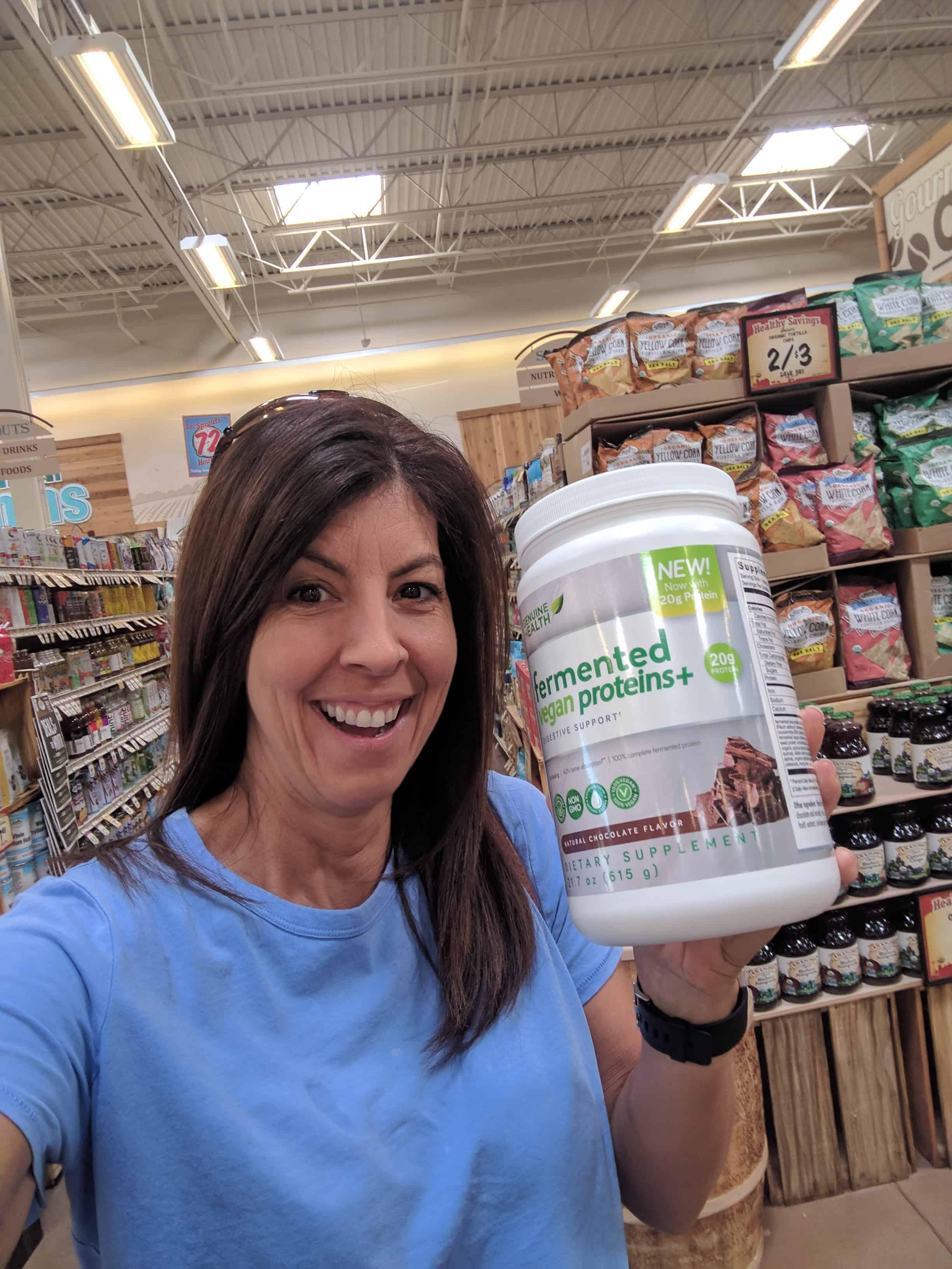 fermented vegan proteins powder
