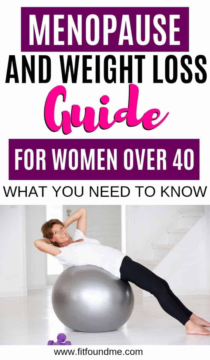 Weight loss and menopause is no joke. Menopause can make it difficult to lose weight after 40, but now there is a guide from someone who experienced it, first hand. Tips for how you can lose the weight and feel better. #menopauseandweightloss #weightlossover40 #healthyliving #womenshealth #menopause #health #losingweight  via @fitfoundme