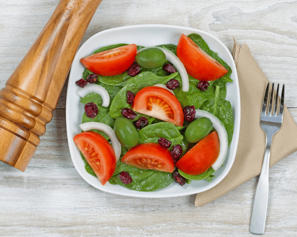 eating salad everyday