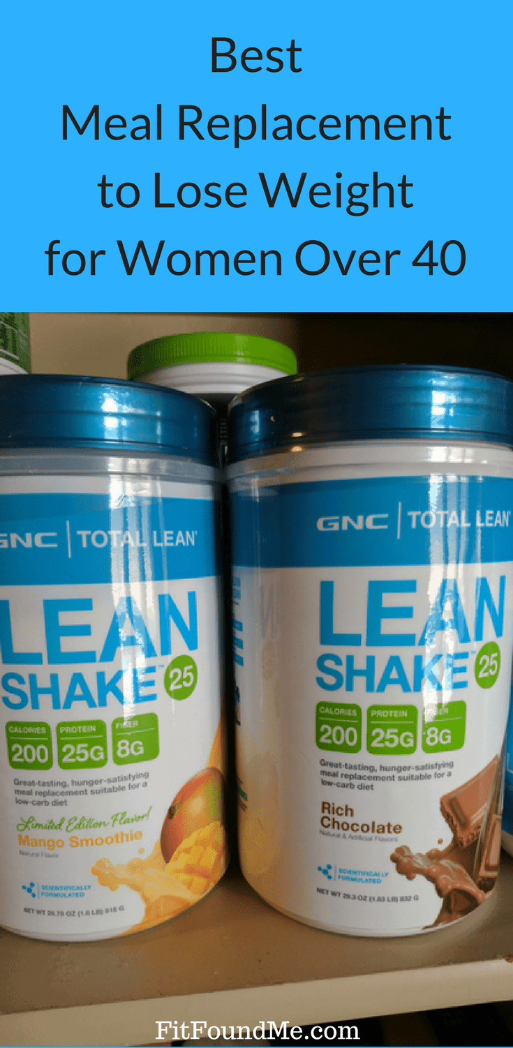 Best Meal Replacement Shake to Lose Weight for Women Over 40