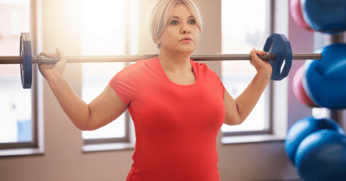 woman start exercising if you're out of shape