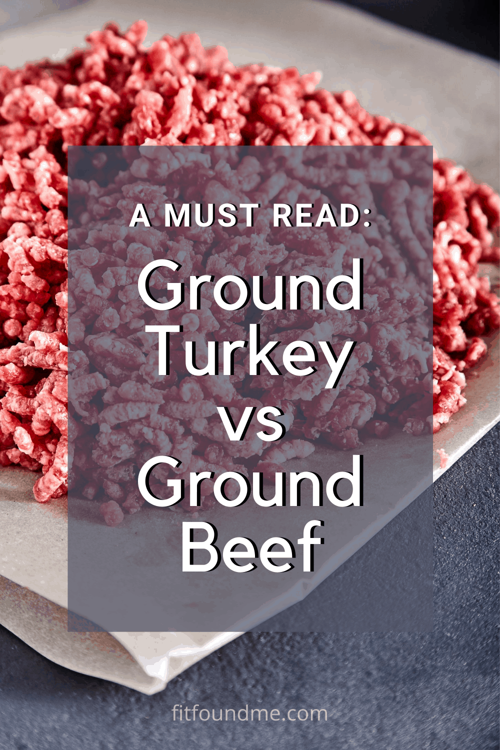 Do you know which you should be using? What is healthier, ground beef or ground turkey? You might be surprised by what I found out when I looked into it.  via @fitfoundme