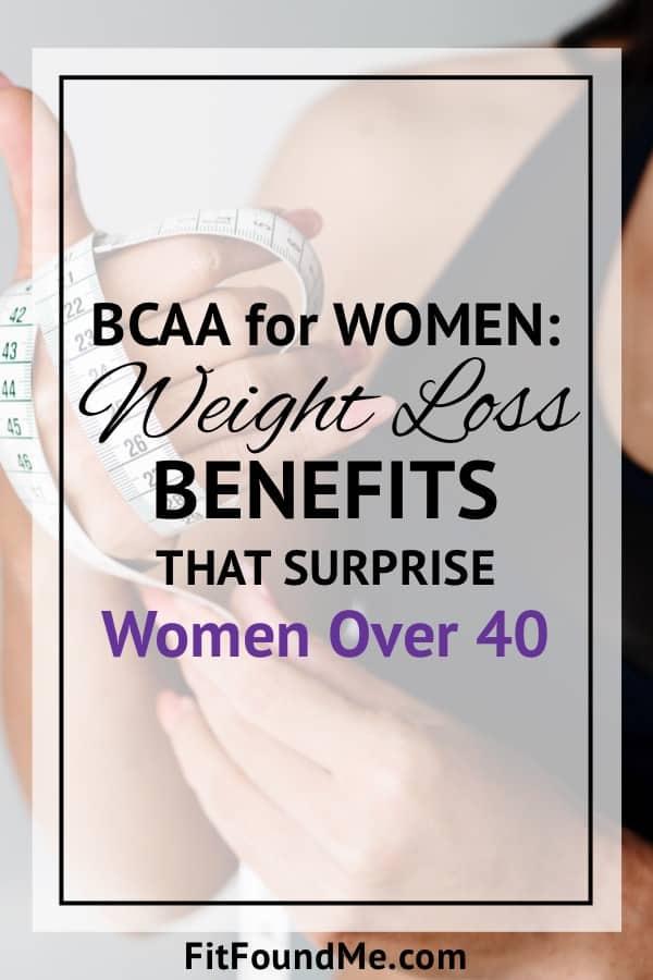 BCAA weight loss benefits for women