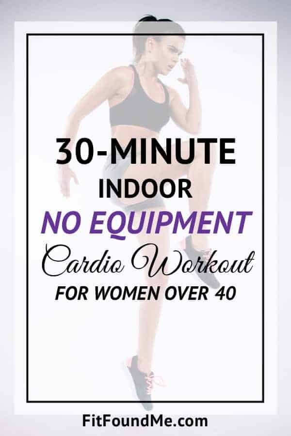 Cardio workouts for women to lose weight in a week while doing exercises at home. No gym, no equipment needed to burn fat.