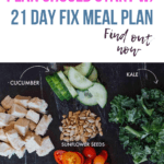 healthy food for salad with title why your weight loss plan should start with 21 day fix meal plan