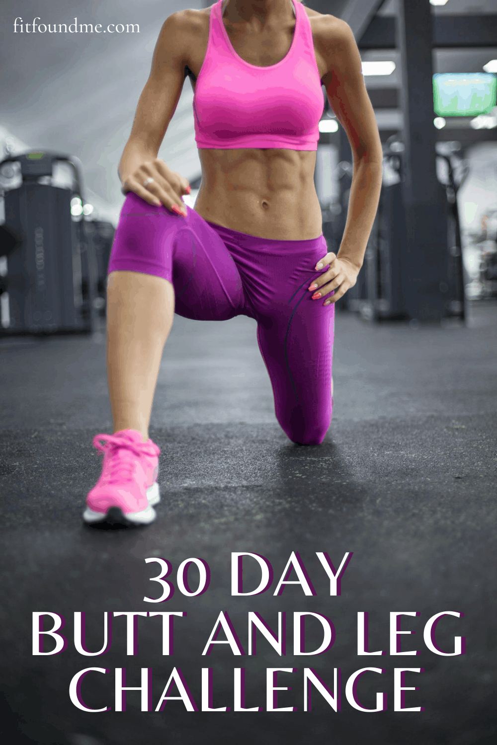 Print this 30 day leg and butt workout to tone and lift. Don't be afraid to work your legs - it's the muscle that will slim your legs and build your booty! We want to get rid of the mom butt and fight gravity. via @fitfoundme