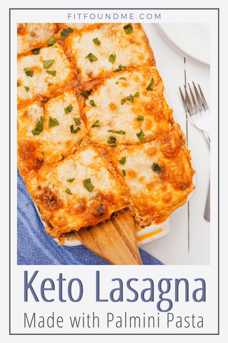 I avoided lasagna for years because of obvious high carb reasons until I discovered palmini pasta! I am so excited to share this low carb lasagna recipe so you can enjoy this comfort food without the guilt again. If you are thinking your family won't like this...my family liked it, even a very picky teenager ate it without any complaints. This keto lasagna can easily be adapted for a low carb, lower fat lasagna as well. I'll tell you the adaptations needed throughout the directions. via @fitfoundme