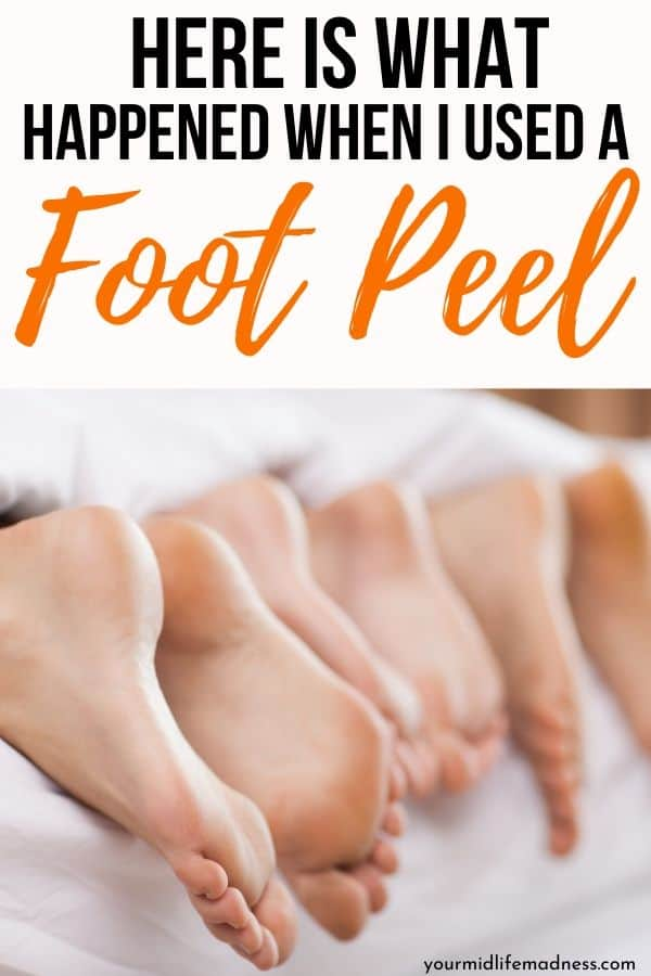 The home foot peel experience was much less trouble than I expected, and I was surprised at the results I got, especially after seeing the results others got. I have always been on the lookout for the desert heel syndrome. If you have ever lived in the desert, you know what I mean. We lived in the desert in CA for 4 years, and I was almost as regular at keeping foot cream on my feet as I was on my belly when I was pregnant. via @fitfoundme